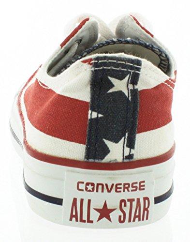 Converse - Zapatillas de tela unisex Multicolor (Stars Bars)