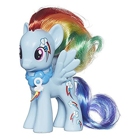My Little Pony Cutie Mark Magic Rainbow Dash Figure (Rainbow Dash Wall)