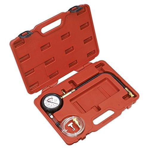 Sealey VSE3157 Diesel Compression Gauge, Hose & TDC Base Kit SEAVSE3157