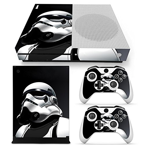FriendlyTomato Xbox One S Console, Controller and Kinect Skin Set - Star Warrior - XboxOne Vinyl