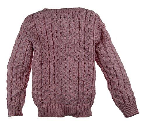 Irish Merino Wool Aran Children's Button Sweater by The Irish Store - Irish Gifts from Ireland (Image #1)