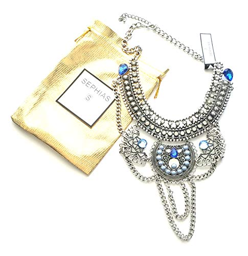 (Statement Necklace Boho Ethnic Tribal Vintage style Collection (Mystic)