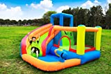 Doctor Dolphin Inflatable Bounce Slide Combo House for Kids Outdoor Party with Air