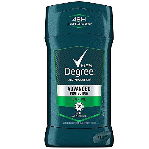 Degree Men Antiperspirant, Overtime 2.7 Oz (Pack of 12) (Perfume One Ck Citrus)