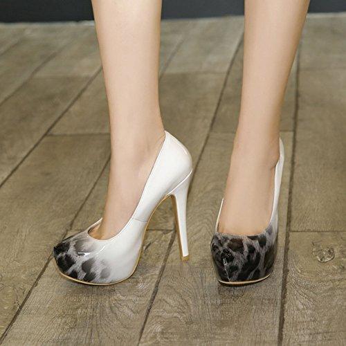 en de Cuero Mujer Zapatos sint qHp0w