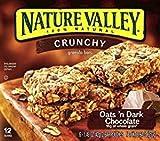 Nature Valley Crunchy Granola Bars Oats 'N Dark Chocolate 1.49 Oz. Pk Of 3.