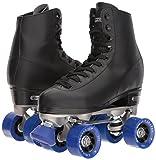 Chicago Men's Classic Roller Skates - Premium Black Quad Rink Skates - Size 9