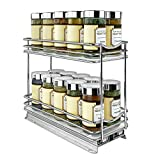 Lynk Professional 430422DS Slide Out Spice Rack Double Cabinet...