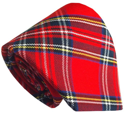 Men's Scottish Royal Stewart Tartan Neck - Stewart Tartan Tie