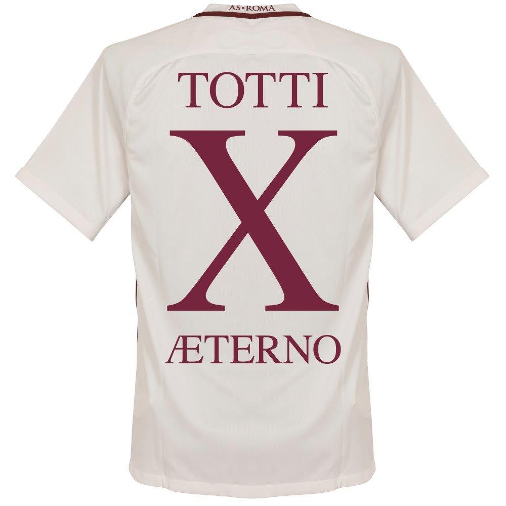 As Roma Away Totti Aeterno X Jersey 2016 /2017 B072BVCGJPX-Large