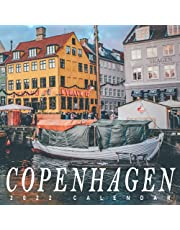 Copenhagen Calendar 2022: Gifts for Friends and Family with 12-month Monthly Calendar in 8.5x8.5 inch