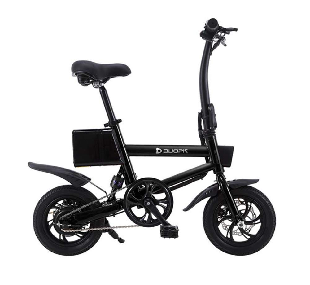 tienda de descuento negro negro negro TX Bicicleta Eléctrica 36V Eléctrico Neumático De Grasa De La Bici Plegable De Aluminio 25Km H Potente Eléctrico Bicicleta De Montaña Nieve Jugara, Dos Métodos De Cochega 30-40Km  hasta un 60% de descuento