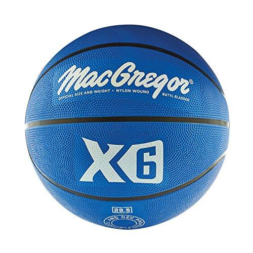 MacGregor Rubber Offical Basketball (Blue) -  Sport Supply Group, Inc., MCBBX602