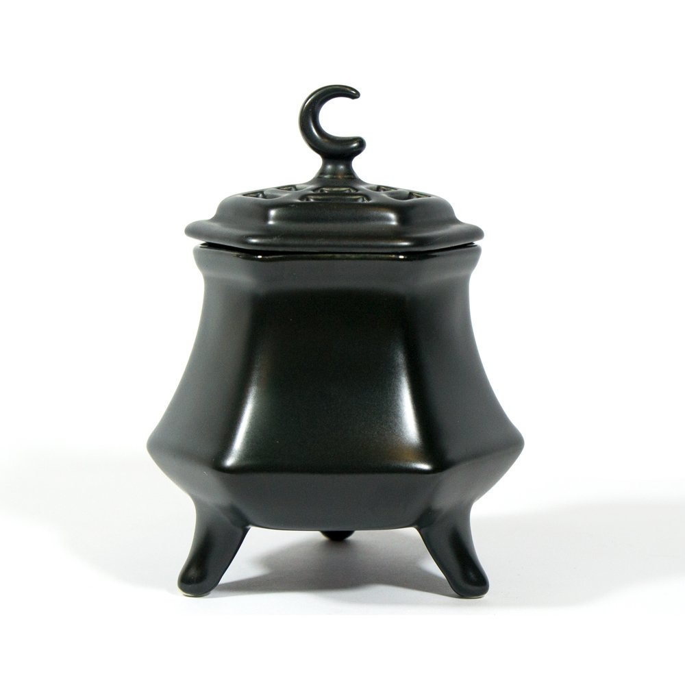 Electric Incense Burner Heater - 3 Foots Black Type 110V 18W 80-220degree C by IncenseHouse - Electric Burner (Image #1)