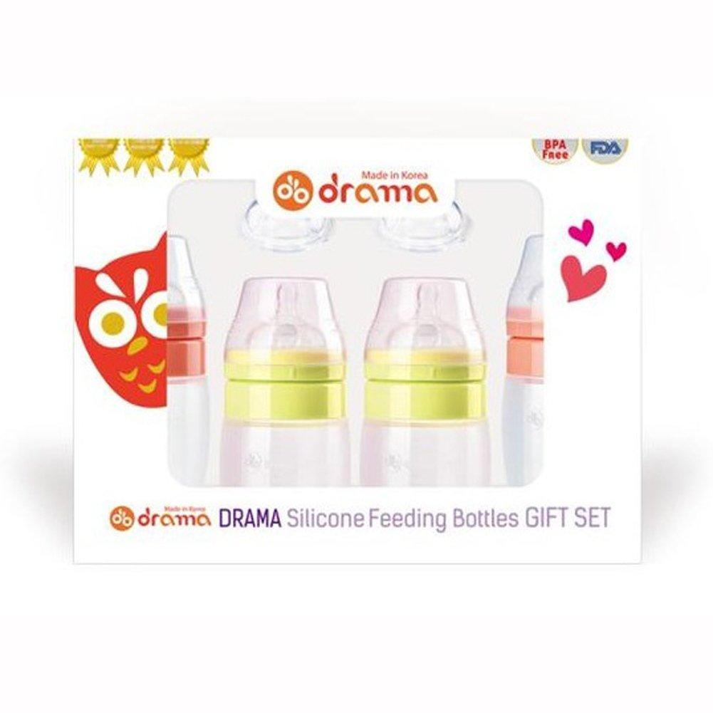 有名なブランド ドラマ シリコーン哺乳瓶ギフトセットベビーピンクライムボトル200ml/ 320mlナルシティングニップルパッシャーBPAフリー韓国 DRAMA Silicone Feeding Korea Bottles Feeding Gift Lime Set Baby Pink Lime Bottle 200ml/320ml Nurshing Nipple Pacifier BPA Free Korea [並行輸入品] B07G2GKDTF, SESAME(セサミ)家具インテリア:9fb50455 --- arianechie.dominiotemporario.com