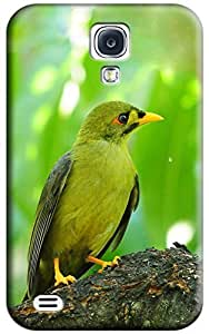 Green Bird Hard Back Shell Case / Cover for Galaxy S4