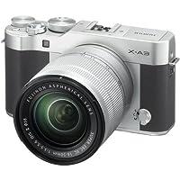 Fujifilm X-A3 Mirrorless Digital Camera with 16-50mm Len (Silver)