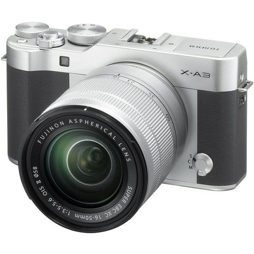 Fujifilm X-A3 Mirrorless Digital Camera with 16-50mm Lens  N