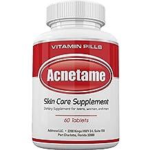 Addrena Acnetame 935.81 mg Acne Supplement Vitamins, 60 Natural Pills