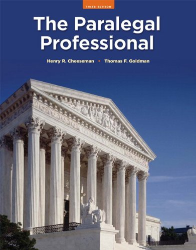 The Paralegal Professional