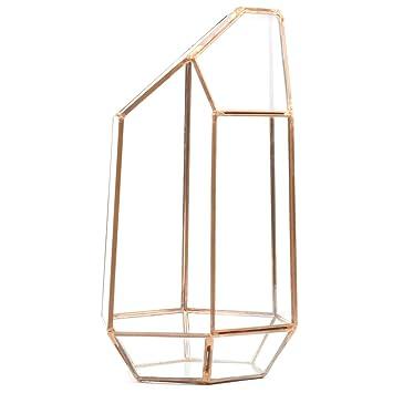 Koyal Wholesale Geometric Terrarium Glass Table Decoration Planter