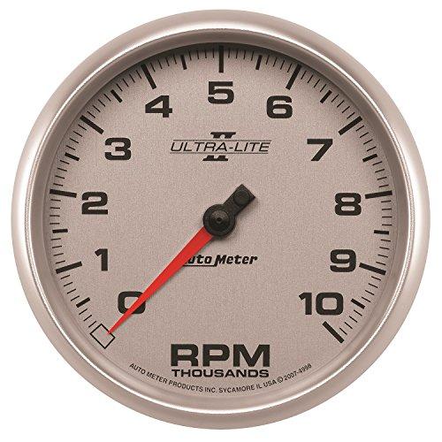 Auto Meter 4998 Ultra-Lite II 5'' 10000 RPM In-Dash Tachometer by Auto Meter (Image #1)