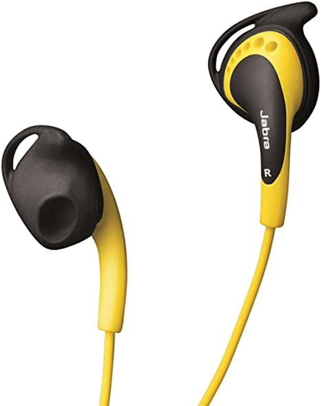 Jabra Active Corded Sports In Ear Headphones with MicRemote Yellow