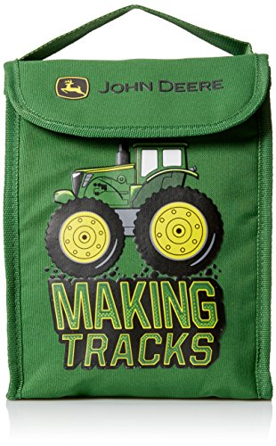 ing Tracks Foldable Lunch Bag, Green ()