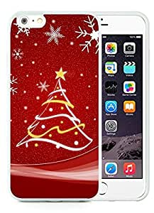 Recommend Design iPhone 6 Plus Case,Merry Christmas White iPhone 6 Plus 5.5 TPU Case 52