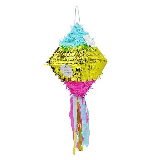 Piñata, Diamante Piñata Fiesta de cumpleaños Suministros ...
