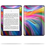 Mightyskins Protective Skin Decal Cover for Amazon Kindle Paperwhite eBook Reader wrap sticker skins -Rainbow Waves