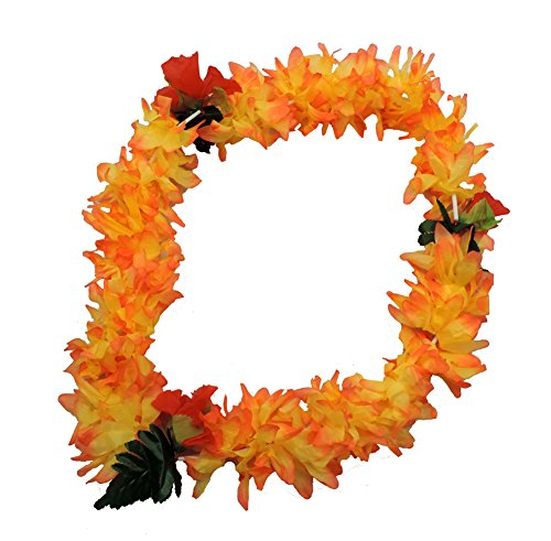Hawaiian Lei Polynesian Hibiscus Hawaii Flower Bright -