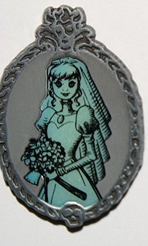 (Disney Parks Haunted Mansion Glow in the Dark Pin ~ Constance Ghost Bride)