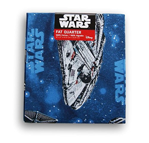 (Star Wars Millennium Falcon Fat Quarter (18 x 21))