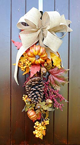 Oval Berry Wreath - 7