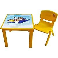 50x50 Y:50cm Plastik Çocuk Masası (kırmızı)