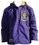 omega psi phi kids - Big Boy Headgear Omega Psi Phi Fraternity Men's Windbreaker 5XL Purple