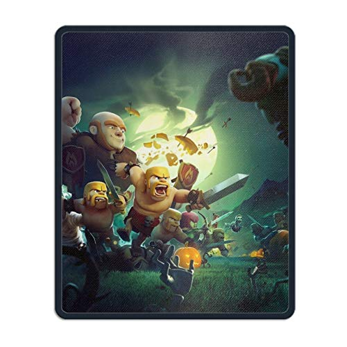 Mouse Pad, Holiday Halloween Clash of Clans, Standard Size, Personalized Your Gaming Mousepad ()