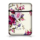 """Beautiful Flower Design 15"""" 15.4 15.5"""" 15.6"""" inch Laptop Case Flip Sleeve Bag Computer Cover For 15 15.4 15.6 Acer DELL HP Macbook,15.6"""" Dell inspiron 1545 15 15R PC,15.6"""" Hp Envy 6,DELL XPS 15,ASUS X53,15.6"""" Toshiba Satellite C855D C655D,15.5"""" SONY VAIO /HP Compaq Presario,Apple Macbook Pro 15"""" 15.4"""" Retina,15.6"""" HP Pavilion G6 DV6 ,Toshiba Dell XPS"""