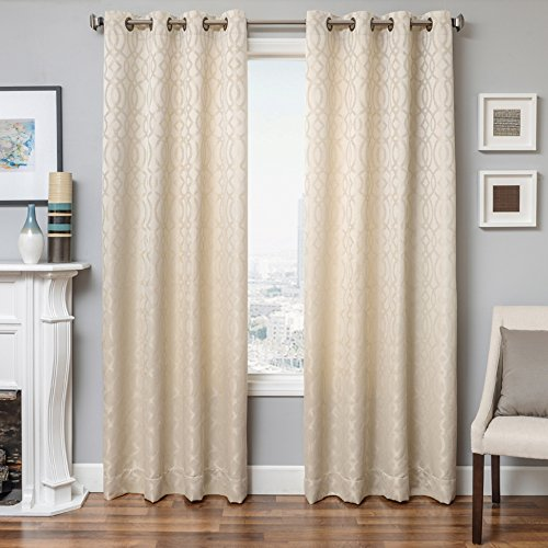 Softline Essex Series Woven Jacquard Window Curtain/Panel/Treatment/Sheer 55