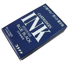 Platinum Fountain Pen Dye-based Ink Cartridge - Blue Black - 10cartridges/unit pack