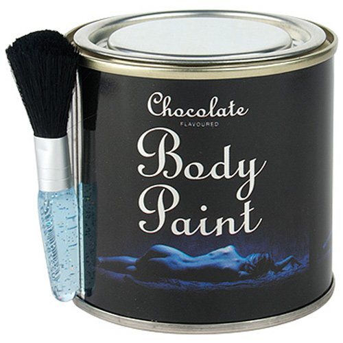 Spencer & Fleetwood Chocolate Body Paint Tin and Brush
