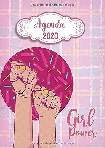 Agenda 2020 Girl Power: Tema Feminista Agenda Mensual y ...