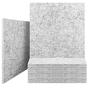 Flashandfocus.com 51Kk26T2jRS._SS300_ JBER Professional Acoustic Foam Panels, Sound Proofing Studio Foam Padding High Density Polyester Fiber Acoustic…