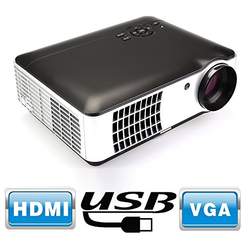 Cheap Flylinktech RD-806A 2800 Lumens Movie Projector Video Led Projector,1080P HD for Home Theater ...