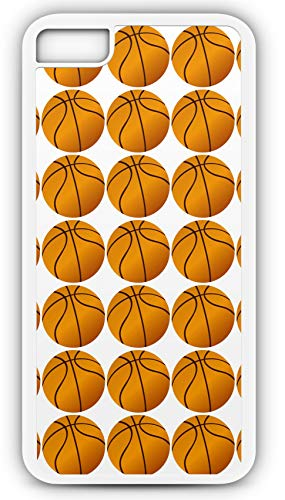 iPhone 8 Plus 8+ Case Basketballs Slam Dunk Contest Ball Rack Customizable by TYD Designs in White -