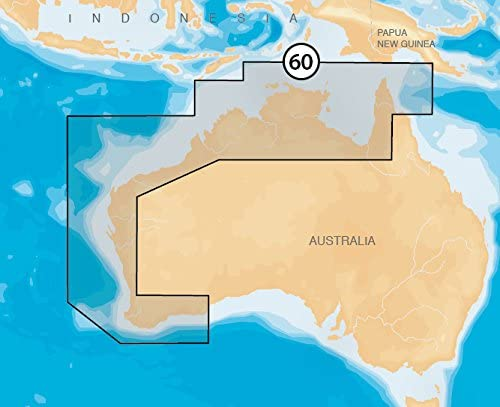 Navionics Platinum+ 60P+ AUSTRALIA NORTH & WEST Marine Charts on SD/MSD: Amazon.es: Electrónica