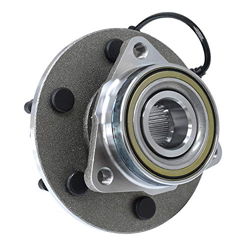 Updated 515036 Front Wheel Bearing and Hub Assembly 6 Lug W/ABS 4WD/AWD Fit for Chevrolet Silverado 1500 GMC Sierra 1500 Cadillac Escalade Chevrolet Avalanche 1500
