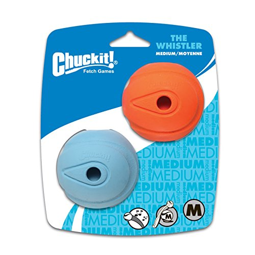 Chuckit! The Whistler 2-Pack, Medium