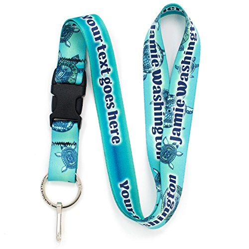 Buttonsmith Turtles Personalized Premium Lanyard product image